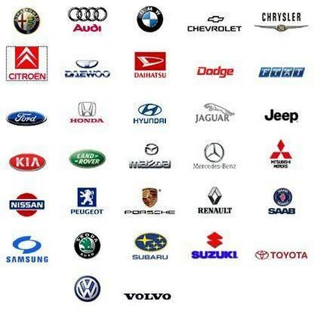 Logos marcas coches en talleres toande flickr photo for Marcas de coches
