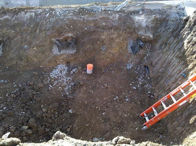 Soil nail wall failure flickr photo sharing for Soil nail wall