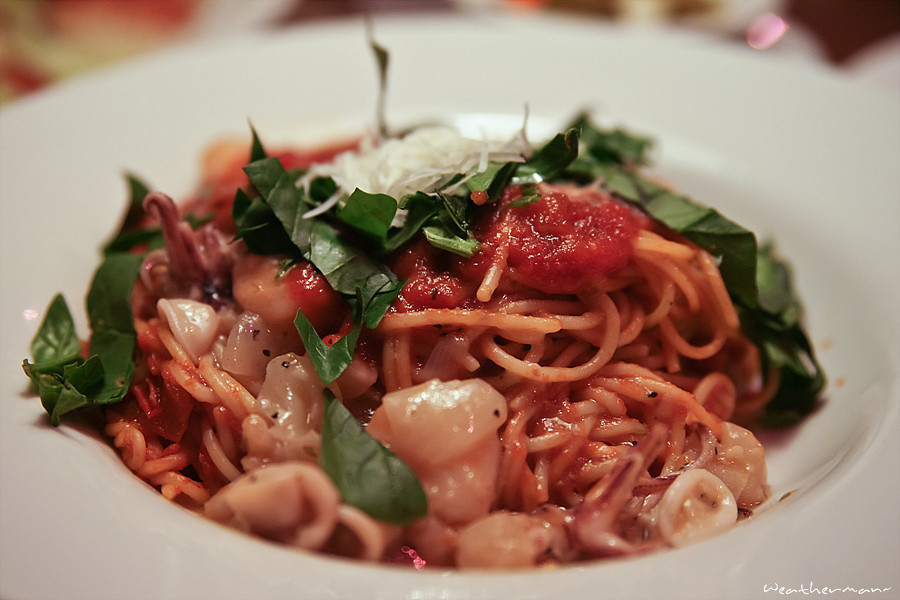 Italian restaurant food
