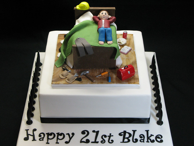 21st Cake Ideas For A Boy : 21st Birthday Cake Flickr - Photo Sharing!