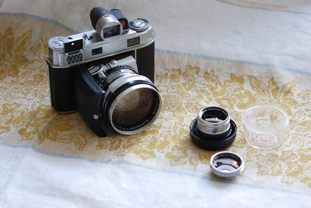 Kodak Retina IIIc 80mm F5.6 35mm F4 Viewfinder
