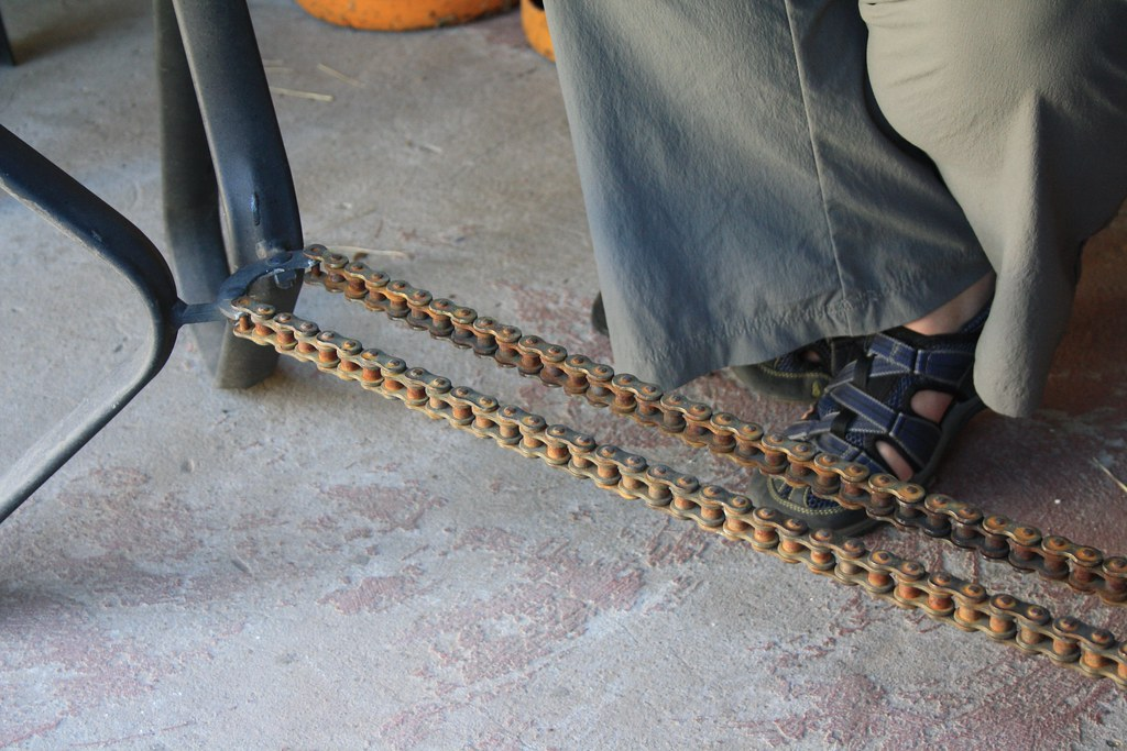 Motorcycle Chain Support