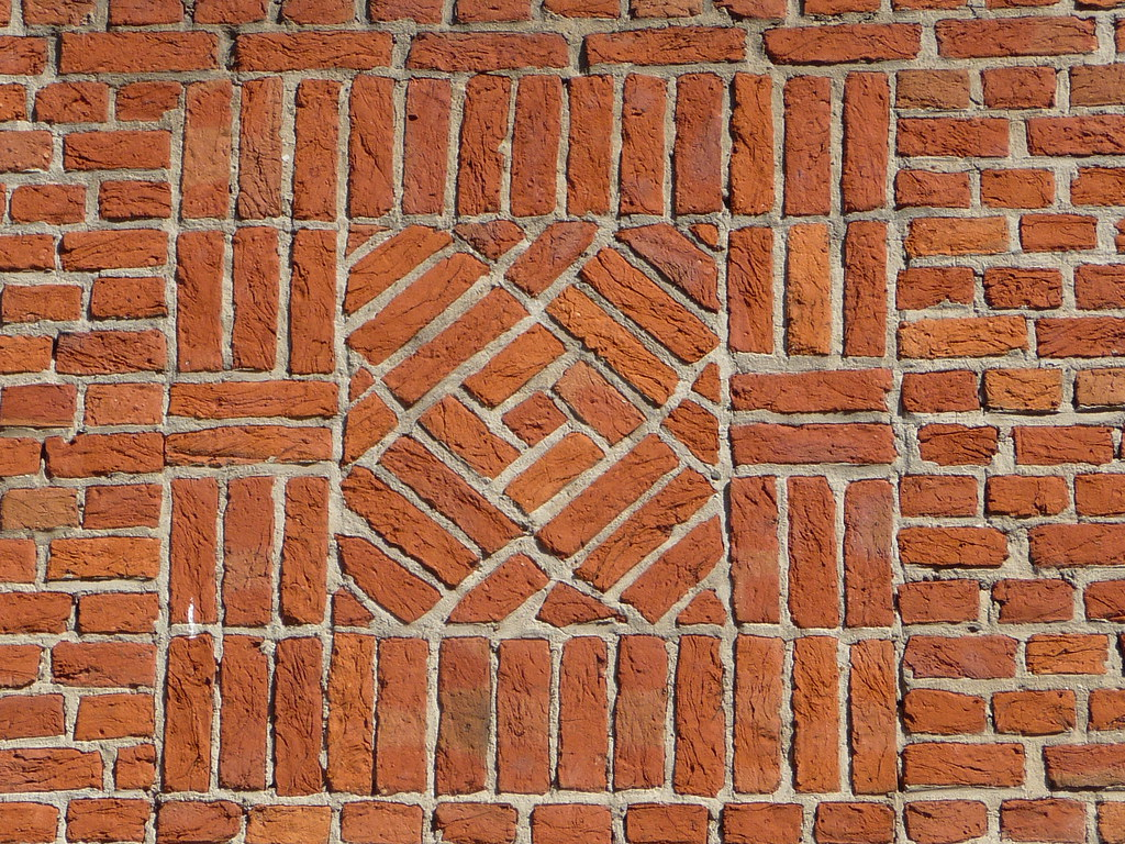 Brick pattern paneling submited images pic2fly - Brick wall patterns designs ...