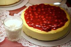 produce(0.0), semifreddo(1.0), baked goods(1.0), fruit(1.0), food(1.0), dish(1.0), cheesecake(1.0), dessert(1.0), torte(1.0), cuisine(1.0), mascarpone(1.0), pudding(1.0),