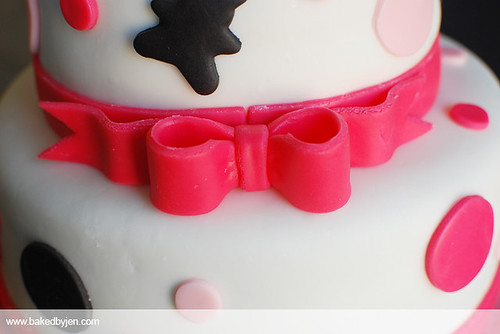 baked by jen hello kitty baby shower cake