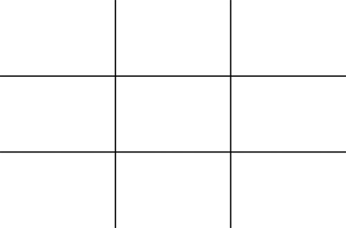 rule of thirds grid