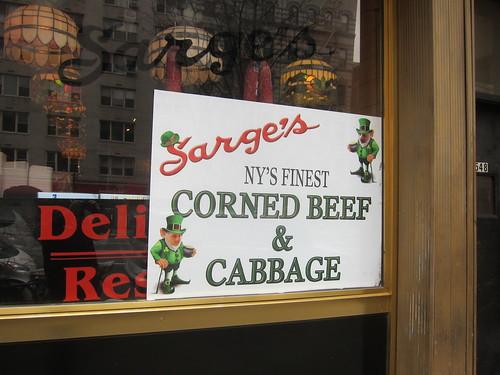 Sarger's Deli. NYC. Nueva York
