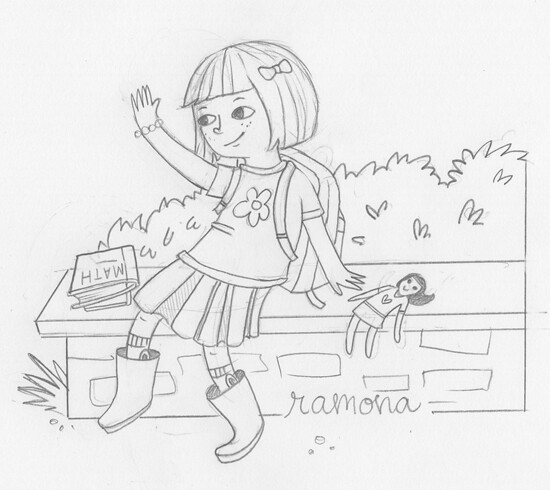 ramona quimby coloring pages ten paces and draw ramona quimby