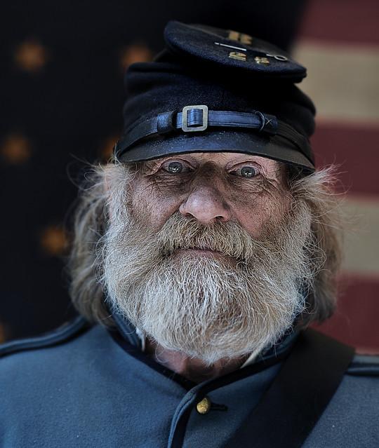 I fell at Gettysburg..