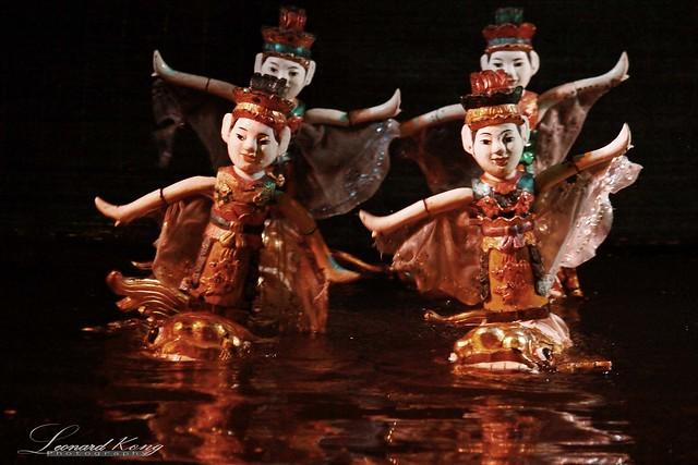 Water Puppet 水上木偶