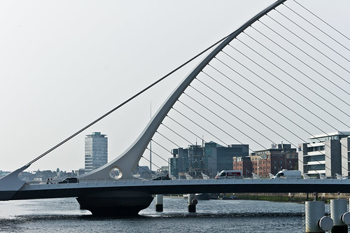 Dublin Docklands - Samuel Beckett Bridge