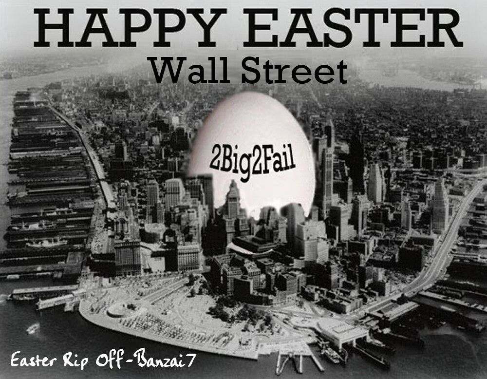 HAPPY EASTER WALL STREET