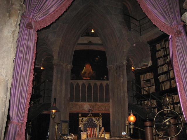 Inside Hogwarts Castle - Dumbledore's Office | Flickr ...