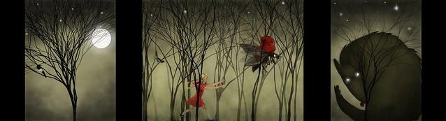 LadyBird triptych