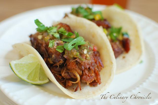 Fat Tire® Braised Carnitas Tacos