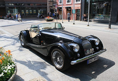 jaguar xk140(0.0), touring car(0.0), jaguar xk150(0.0), supercar(0.0), sports car(0.0), automobile(1.0), jaguar xk120(1.0), morgan +4(1.0), vehicle(1.0), morgan plus 8(1.0), antique car(1.0), classic car(1.0), vintage car(1.0), land vehicle(1.0), luxury vehicle(1.0), convertible(1.0),