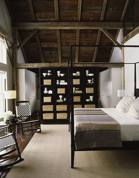S Russell Groves Black White And Gray Rustic Modern Bedroom A Photo On