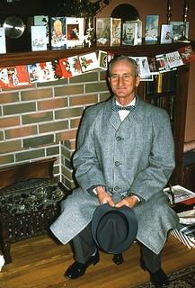 "Grandpa Lorne ""with Teeth"" Christmas 1959"