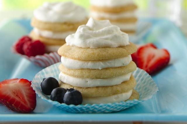 Lemon-Ginger Icebox Cookie Cupcakes Recipe | INGREDIENTS: C ...