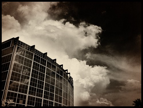 Gonna get stormy tonight #iphoneography