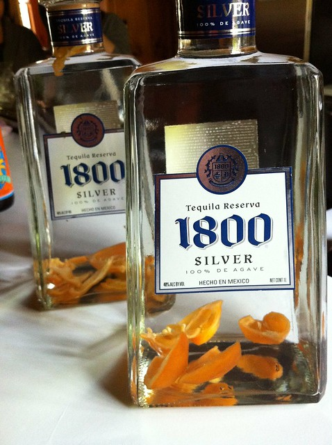 Habanero infused tequila. Nom. | Flickr - Photo Sharing!