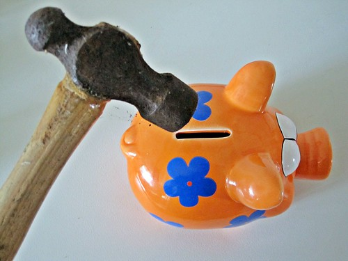 Hammer and Piggy Bank