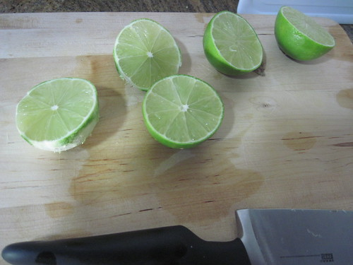 Cutting Limes for Cake