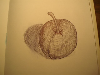 I drew an Apple