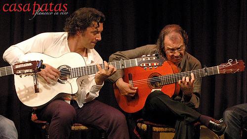 Pepe Habichuela y Josémi Carmona. Foto: Martín Guerrero