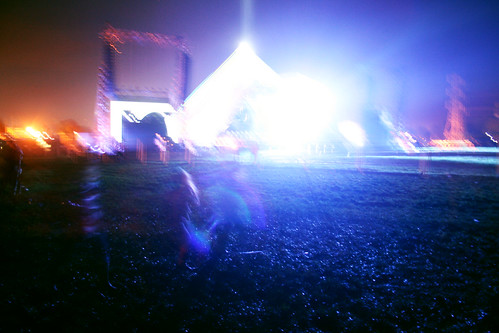 Pyramid Stage at Glastonbury 2011