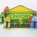 DIY Crayon Finger Puppets