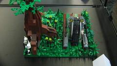 """Lego Starwars """"Ambush"""" Diorama"""
