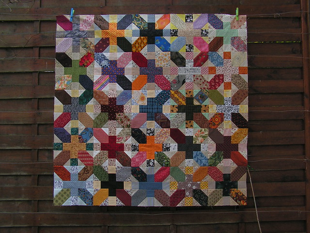 Japanese+ and X quilt along