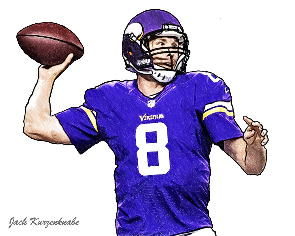 meet 4f038 2c1ba 0 Minnesota Vikings Sam Bradford | View all my NFL drawings ...