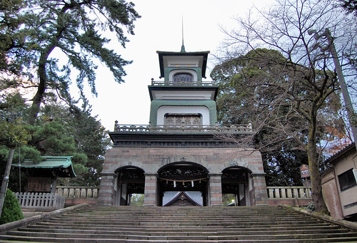 Oyama Shrine 尾山神社 - 無料写真検索fotoq