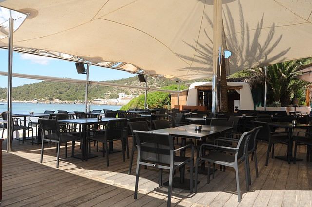 Malibu Beach Club, Ibiza beach restaurant