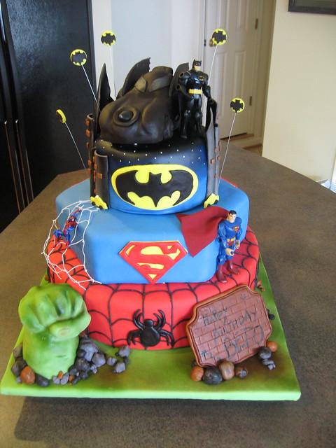 Batman Car Cake Tin