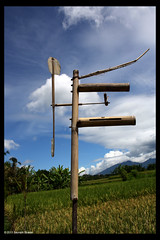 Balinese Windmill Scarecrow