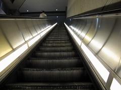 Metro Escalator Mt Vernon Square