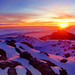 Sunrise at Summit of Kilimanjaro by wandervox