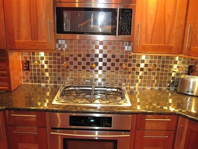 easy woodworking kitchen backsplash ideas glass tile