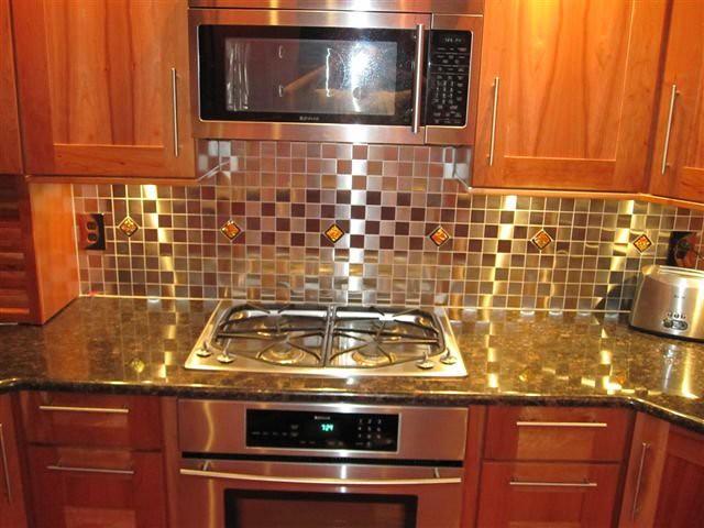 easy woodworking kitchen backsplash ideas glass tile