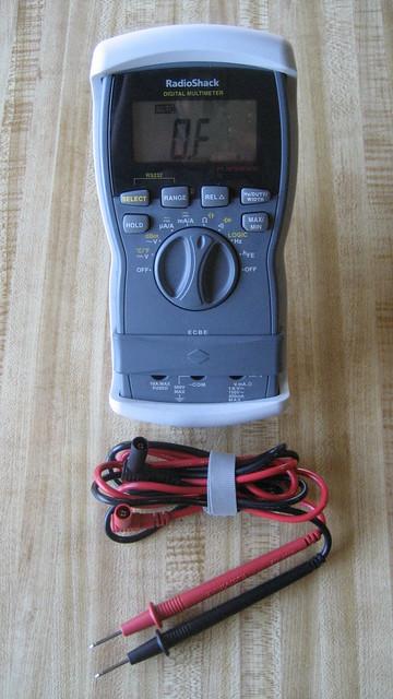 Radio Shack Multimeter : Radio shack digital multimeter flickr photo sharing