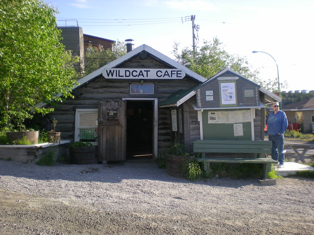 Wildcat Cafe in old town Yellowknife by CC user cbweather on Flickr