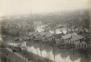 View of Dayton, Dayton, OH - 1913 Flood