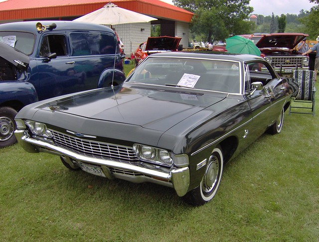 1968 Chevy Impala 4 door hardtop Rice Lake Ont Canadian built Chevy