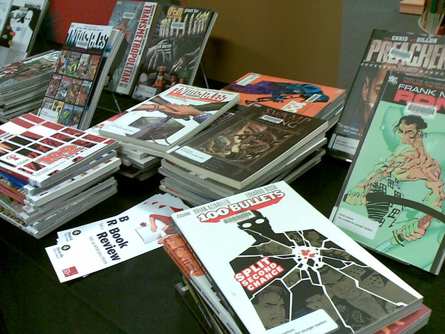 Part of our new Adult Graphic Novel Collection