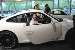 automobile, automotive exterior, porsche 911 gt3, wheel, vehicle, automotive design, porsche, rim, land vehicle, luxury vehicle, supercar, sports car,