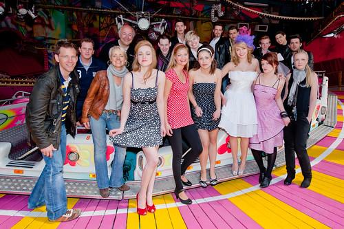 60er jahre fashion shooting auf dem jahrmarkt michael for Fashion jobs hamburg