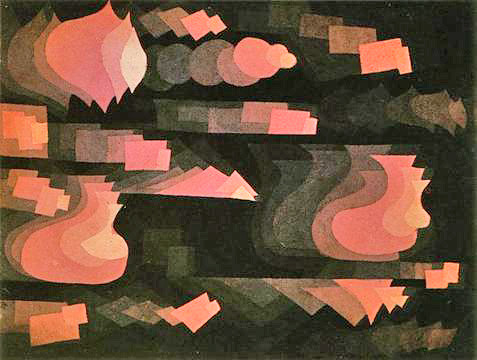 Angle Finder App >> Fugue in Red, Paul Klee, 1921 | Flickr - Photo Sharing!